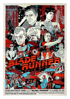 Blade Runner Movie Poster, available at 45x32cm.This poster is printed on matt coated 350 gram paper.