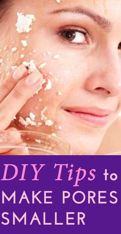 DIY toner and exfoliant recipes  how to use them to shrink visible, large pores