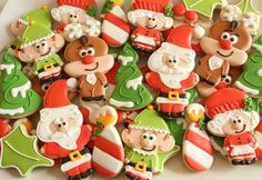 Silly Christmas Cookies Sweetsugarbelle