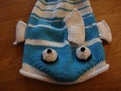 fish hat pattern
