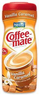 coffee mate - vanilla caramel powder - my favorite ♥
