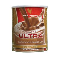 A tasty drink as a replacement for an ample meal. These shakes are available in two different flavours and contain all the vital elements. Forever Lite Ultra Vanilla and Forever Lite Ultra Chocolate make up a nutrition programme based on non-genetically modified soy protein.  For orders visit www.kimandterry.myforever.biz