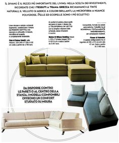 Cose di Casa - sofa and sofa bed Melvin by Milano Bedding