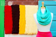 Your Neck is Freezing - Basket Weave Winter Infinity Scarves for 76% Off! pickyourplum.com #scarves