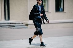 The Cool Kids at Tbilisi Fashion Week Are All About Denim Photos | W Magazine