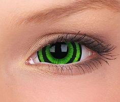 a7853814013 Lenses Sclera 22mm Contacts Green Goblin - 17mm Mini
