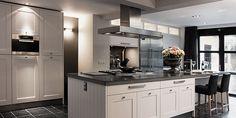 White&Grey kitchen.