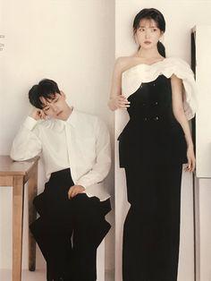 Korean Celebrities, Korean Actors, Iu Fashion, Korean Fashion, Iu Moon Lovers, Jin Goo, Joo Won, Korean Couple, Kdrama Actors