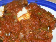 Homemade Old Fashioned Swiss Steak. Stick to your ribs old-fashioned comfort food. Fork tender steak with a tomato based gravy and a mountain of mashed potatoes. It doesn't get any better than this. Swiss Steak Recipes, Beef Recipes, Cooking Recipes, Beef Meals, Cuban Recipes, Cooking Tips, Dinner Recipes, Kale Recipes, Leche Flan