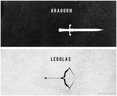 Aragon and Legolas Rr Tolkien, Tolkien Books, Aragorn Lotr, Legolas, The Misty Mountains Cold, Rise Of The Guardians, Thranduil, Aragon, Super Heros