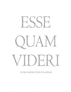 Printable Art Esse Quam Videri Latin by KasperCreationsStore More