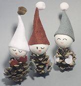 Avec C-MonEtiquette, réalisez de mignons petits lutins de Noël à partir de pommes de pin ! Retrouvez tous nos ateliers DIY sur notre blog !!