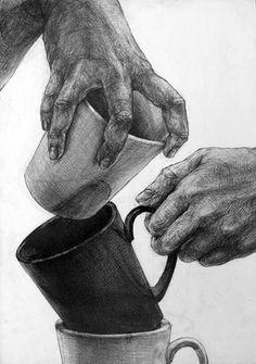 生徒作品 大橋美術研究所・美大受験予備校 Feet Drawing, Ap Drawing, Figure Drawing, Body Gestures, Pen And Wash, Art Basics, Charcoal Art, Pencil Art Drawings, Hand Art
