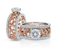 Style Number: WS503RD Category: Solitaire Center Stone Size: .75 to 1.25ct Center Stone Shape: Round 134 Diamonds Available In: 14K, 18K Gold #rosegold #diamond