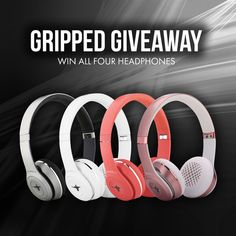 In celebration of the launch of our newest product we are giving away the 4 of our  New Colors of the Equalizers V.3 line of headset. Join now and get this great headphones