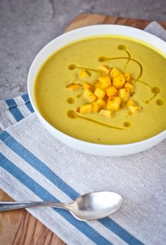 Adapted from Daniel Boulud, this curried cream of cauliflower and apple soup is simple and silky smooth with just a hint of spice. The perfect dish for a cold winter night!
