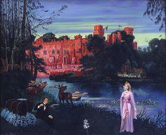 Le brame, Souvenirs 1953 – 1963, huile sur toile, 60 x 73 cm, Clovis Trouille