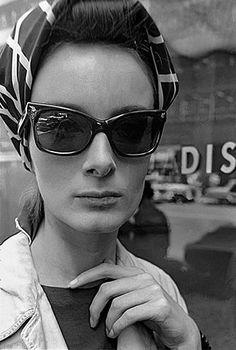 Frank Horvat - model Katinka, New York