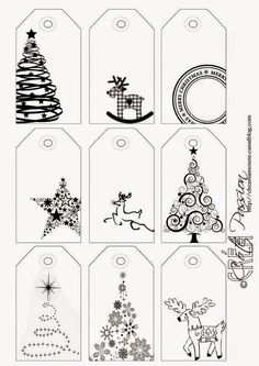 Côté Passion 9 tag BW Christmas is artistic inspiration for us. Get extra photograph about Residence Decor and DIY & Crafts associated with by taking a look at photographs gallery on the backside of this web page. We're need to say thanks in the event you Christmas Labels, Noel Christmas, Christmas Printables, Winter Christmas, All Things Christmas, Christmas Ornaments, Christmas Gift Tags Printable, Printable Tags, Christmas Inspiration
