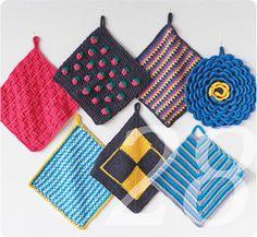 Die 209 Besten Bilder Von Topflappen Sträkeln Crochet Patterns