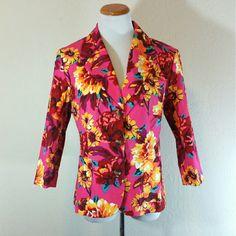 Isaac Mizrahi x Target Floral Blazer Isaac Mizrahi x Target Floral Blazer. 3 button closure. Fully lined. NWT.   No trade or PP  Offers Considered  Bundle discounts Isaac Mizrahi Jackets & Coats Blazers