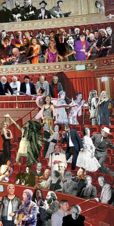 Sir Peter Blake Appearing at the Royal Albert Hall Digital Collage, Collage Art, Collages, Cultura Pop, Grayson Perry Art, Anthony Caro, Peter Blake, Spencer, Pop Culture Art