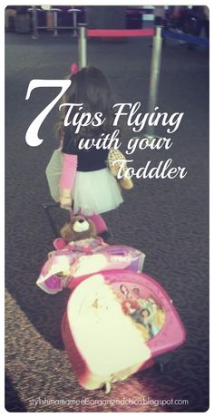 Tips on flying with children, toddlers, flying with kids
