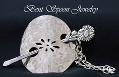 Shawl Pin Vintage Recycled  Spoon Shawl Pin / by Bentspoonjewelry, $28.00
