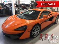 For Sale. 2016 McLaren 4900 miles, 562 HP, one owner, mint condition. Call for details or visit our site Fine Motor, Big Boys, Luxury Cars, Vintage Cars, Mint, Vehicles, Classic, Fancy Cars, Derby