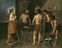 Velázquez - La Fragua de Vulcano (Museo del Prado, 1630) - Diego Velázquez - Wikipedia, la enciclopedia libre