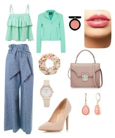 """l"" by lejlaidrizovic ❤ liked on Polyvore featuring MSGM, LE3NO, McQ by Alexander McQueen, New Look, Dorothy Perkins, Alexander McQueen, Vintage America, Armani Beauty and LASplash"