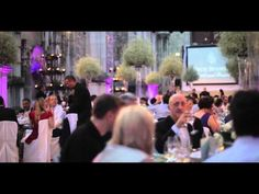Exclusive gala dinner at Ruínas do Carmo catered by Four Seasons Hotel Ritz Lisbon - YouTube