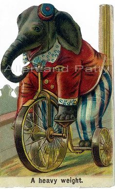 clown on a bike art - Google Search