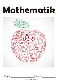 Deckblatt Fach Physik Science Schoo