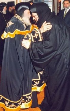 Pope Shenouda, Egypt, Faces, Contemporary, Dresses, Fashion, Vestidos, Moda, Fashion Styles