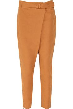 Tapered cotton-blend twill pants by M Missoni