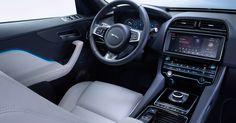 2017 Jaguar F-PACE Interior