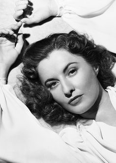 The Cluttered Classic Attic ❧ Barbara Stanwyck, 1942