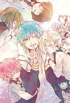 Tsuru, they're finally asleep.
