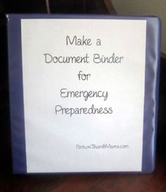 Get your important documents together now, in case you ever have to evacuate quickly. Here's what you need to include, and how to secure it in your house.