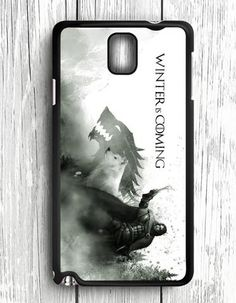 Winter Is Coming Wolf Samsung Galaxy Note 3 Case