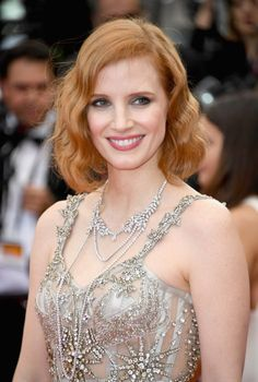 Jessica Chastain | Red Carpet Beauty at Cannes Film Festival, 2016.