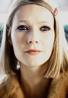 Gwyneth Paltrow as Margot Tenenbaum in The Royal Tenenbaums, 2001