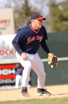 Kevin Youkalis in the minors as a Sea Dog!