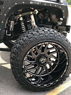 This 2017 Jeep Wrangler JK is running TIS wheels Fury Offroad Country Hunter Mt tires with BDS Suspension Suspension Lift suspension. Jeep Jk, Jeep Rubicon, 2017 Jeep Wrangler, Jeep Wrangler Unlimited, Truck Rims And Tires, Truck Wheels, Jeep Wheels And Tires, Old Ford Trucks, Lifted Chevy Trucks