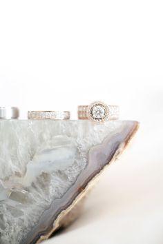 Bling ring | Photography: B. Schwartz Photography - bschwartzphotography.com Read More: http://www.stylemepretty.com/california-weddings/2015/06/12/elegantly-cool-santa-barbara-wedding/