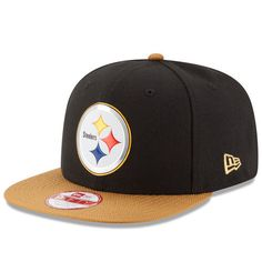 separation shoes 1400f 3861e New Era NFL Pittsburgh Steelers Gold Collection 9FIFTY Original Fit Snapback  Cap NewEra