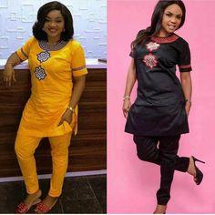H&D 2019 African women clothing Africa summer short sleeve dashiki set - chicmaxonline