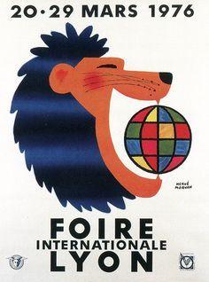 Foire Internationale de Lyon 1976 ~ Hervé Morvan
