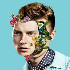 Flowerful Portraits by Marcelo Monreal